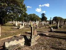 Cimitero di Rookwood Fotografia Stock Libera da Diritti