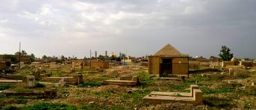 Cimitero di Samarra fotografia stock libera da diritti