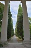 Cimitero di Udine Fotografia Stock Libera da Diritti