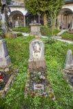 Cimitero e catacombe di Petersfriedhof al catholi della st Peters Abbey Immagini Stock Libere da Diritti