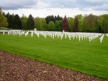 Cimitero e memoriale americani del Lussemburgo fotografia stock libera da diritti