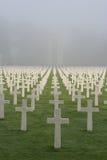 Cimitero e memoriale americani del Lussemburgo Immagine Stock