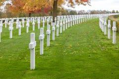 Cimitero e memoriale americani di Cambridge Fotografie Stock