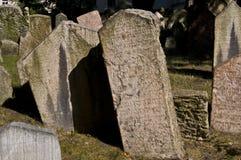 Cimitero ebreo Immagine Stock