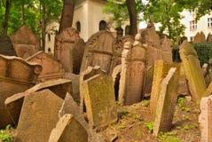 Cimitero ebreo Fotografia Stock Libera da Diritti