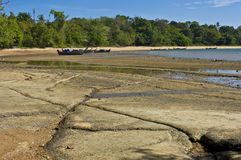 Cimitero fossile della spiaggia delle coperture della Susan Hoi Immagine Stock Libera da Diritti
