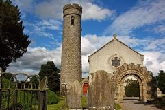 Cimitero irlandese Immagini Stock