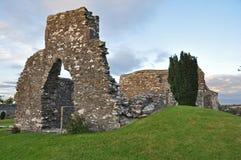 Cimitero in Kildare Irlanda Immagine Stock