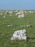Cimitero medievale Fotografia Stock