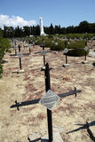Cimitero militare francese Immagini Stock