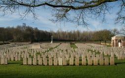 Cimitero militare in Francia (WW1) Immagini Stock