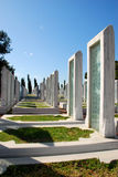 Cimitero militare turco Immagini Stock