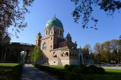 Cimitero Mirogoj della sosta Immagini Stock