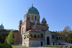 Cimitero Mirogoj della sosta Fotografie Stock