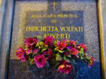 Cimitero Monumentale Μιλάνο Στοκ Εικόνα