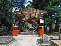 Cimitero Monumentale Милан стоковая фотография rf