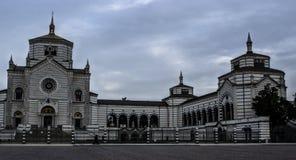 Cimitero Monumentale, Milán, Italia Fotos de archivo libres de regalías