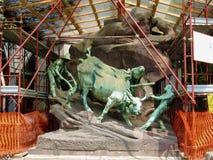 Cimitero Monumentale Milano Imagenes de archivo