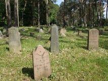 Cimitero musulmano, Polonia Fotografia Stock Libera da Diritti