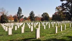 Cimitero nazionale 4 di Arlington Fotografia Stock Libera da Diritti