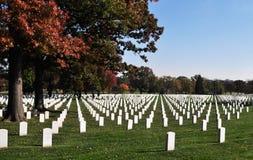 Cimitero nazionale 5 di Arlington Fotografia Stock