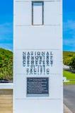 Cimitero nazionale del Pacifico Immagine Stock