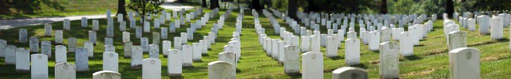 Cimitero nazionale di Arlington Fotografie Stock