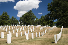 Cimitero nazionale di Arlington Immagini Stock