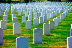 Cimitero nazionale di Arlington VA vicino al Washington DC Fotografie Stock Libere da Diritti