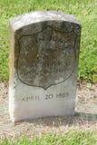 Cimitero nazionale di Chalmette Fotografia Stock Libera da Diritti