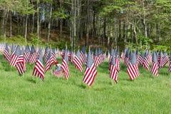 Cimitero nazionale di Massachusetts Immagini Stock Libere da Diritti