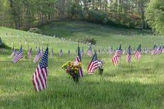 Cimitero nazionale di Massachusetts Immagine Stock