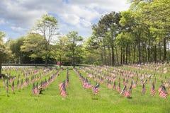 Cimitero nazionale di Massachusetts Immagine Stock Libera da Diritti