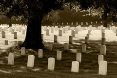 Cimitero nazionale di Nashville immagini stock libere da diritti