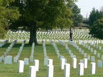 Cimitero nazionale di Nashville Immagine Stock