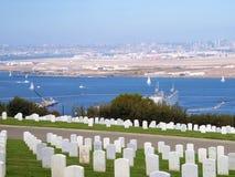 Cimitero nazionale di Rosecrans Fotografia Stock