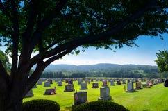 Cimitero nel PA di Allentown Fotografie Stock Libere da Diritti
