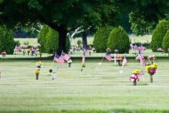 Cimitero nella Virginia dell'Ovest Fotografia Stock Libera da Diritti