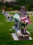 Cimitero patriottico Immagine Stock Libera da Diritti