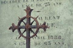 Cimitero Pere Lachaise Immagini Stock