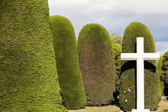 Cimitero - Punta Arenas, Cile Fotografie Stock