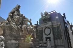 Cimitero Recoleta. Buenos Aires Fotografia Stock