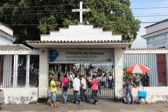 Cimitero in Rio de Janeiro Fotografia Stock