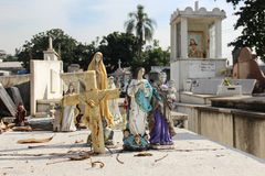 Cimitero in Rio de Janeiro Immagini Stock