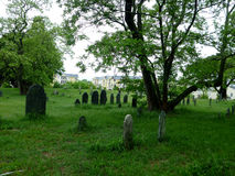 Cimitero a Salem, Masachusetts Fotografia Stock
