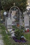 Cimitero a Salisburgo fotografie stock libere da diritti