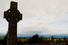 Cimitero scozzese fotografia stock libera da diritti