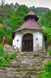 Cimitero simbolico sotto Ostrva in alte montagne di Tatra, Immagini Stock Libere da Diritti