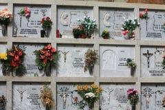 Cimitero spagnolo immagine stock libera da diritti