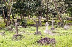 Cimitero in Tanzania Immagini Stock